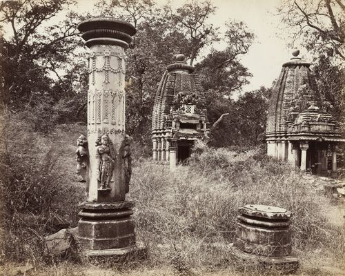 Baroli Temples Complex   Baroli village   Rawatbhata   Chittorgarh district   Rajasthan India   Udaipur   photo by Colin Murray (1872-73)
