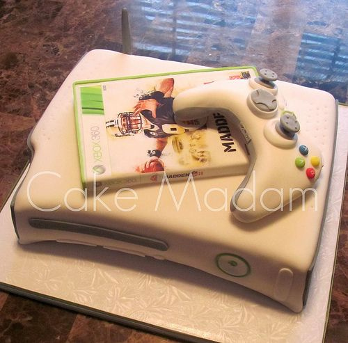 Xbox Cake By Cake Madam, Via Flickr