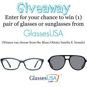 GlassesUSA giveaway - Basically Speaking
