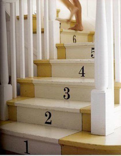 I wish I had the moxie to do this.  But I'm all out of moxie - plus my stairs are veneer.