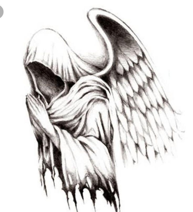 черный ангел тату картинки пространство