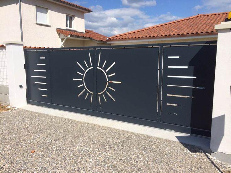 best 25 metal gate designs ideas on pinterest wrought. Black Bedroom Furniture Sets. Home Design Ideas