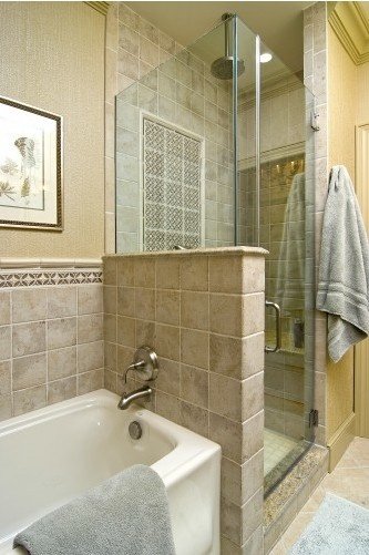 17 Best images about Narrow master bath on Pinterest ...