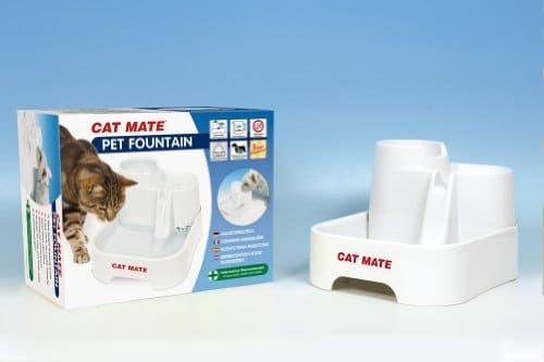 CAT MATE Katzentränke Wasserquelle Trinkbrunnen - http://www.futterautomat-katzen.de/produkt/cat-mate-katzentraenke-wasserquelle-trinkbrunnen/