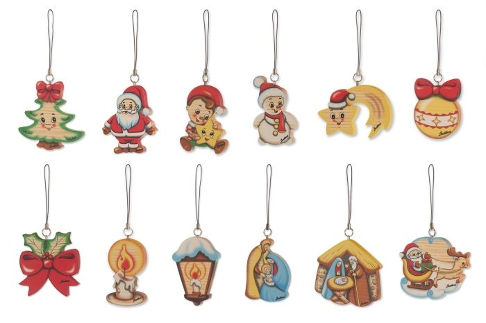 Bartolucci E-shop - Christmas ornaments set - 12 pz