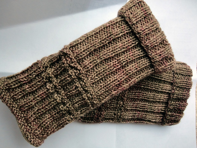 Nemetona Handwarmers - made to match the Nemetona Shawl - these were my first published pattern.  Quick and simple wrist warmers for beginners and experts alike.