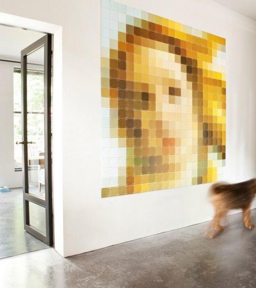 ixxi_Portrait_Venus: this site can turn photos into large scale pixel portraits!