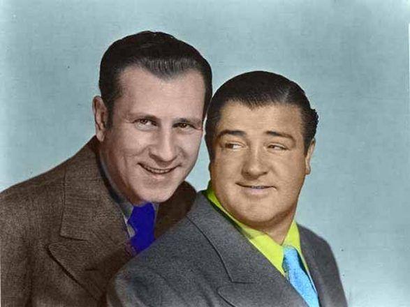 Bud Abbott y Lou Costello fueron el dúo cómico más conocido de los años 40