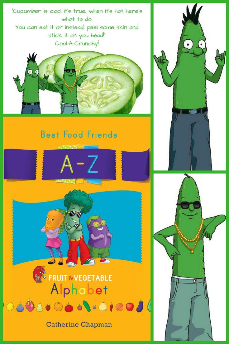 Cucumber Cousins www.bestfoodfriends.com #bestfoodfriends #healthyeating #kids #parenting #food #funfood #eatyourfruitandvegetables
