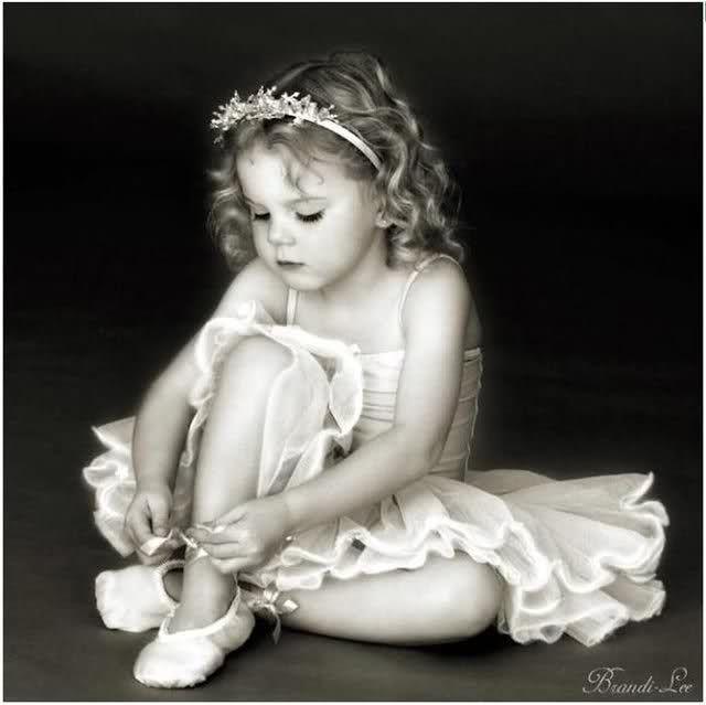 Beautiful little dancer
