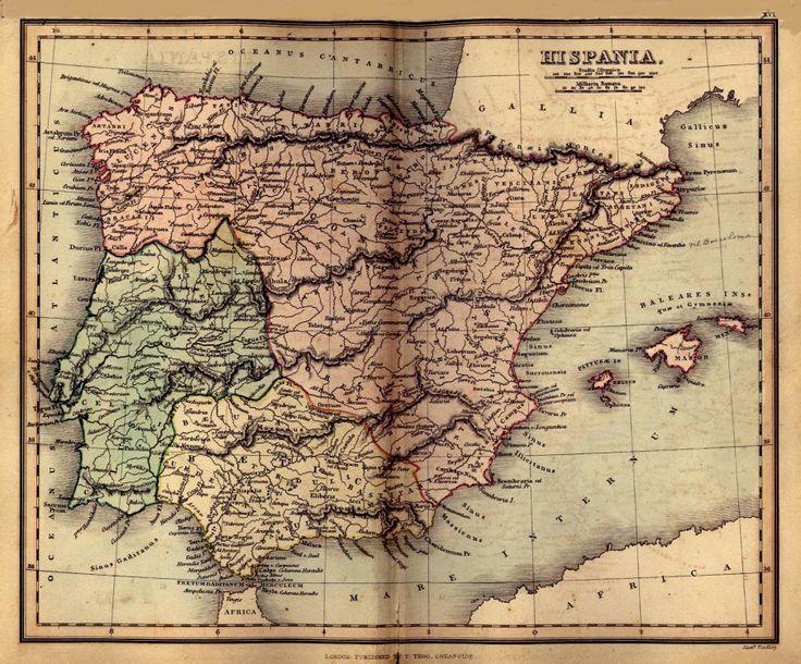 mapas historicos de historia de españa