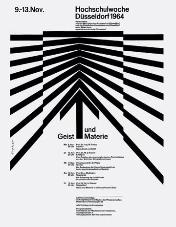 Walter Breker, black and white, graphic design, poster, typography