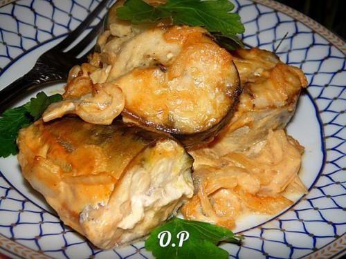 Скумбрия в горчичном соусе.   Шедевры кулинарии