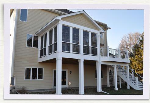 Porch Additions, 3 Season Porch Minneapolis, Home Renovation MN ...