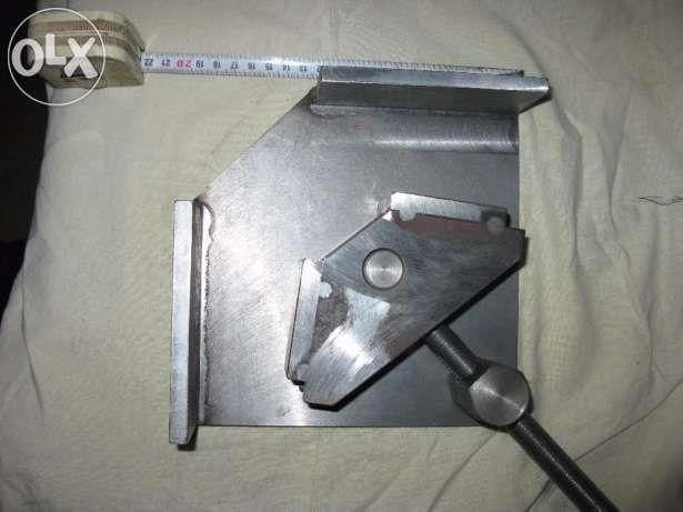 Струбцина- тиски 90 градусов, сварка Запорожье - изображение 3