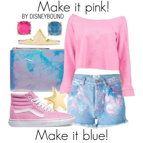 Disney Bound - Make It Pink! Make It Blue!