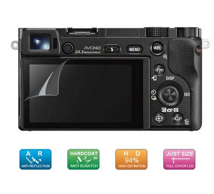 (4pcs, 2pack)LCD Guard Film Screen Display Protector for Sony Alpha A6500 A6300 A6000 A5100 A5000 NEX-7/6/5/3N SLT A33 A35 A55 #Affiliate