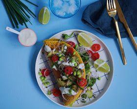 Vanløse blues.....: VEGANSK OMELET - kikærtepandekage med broccili, tomat og avokado