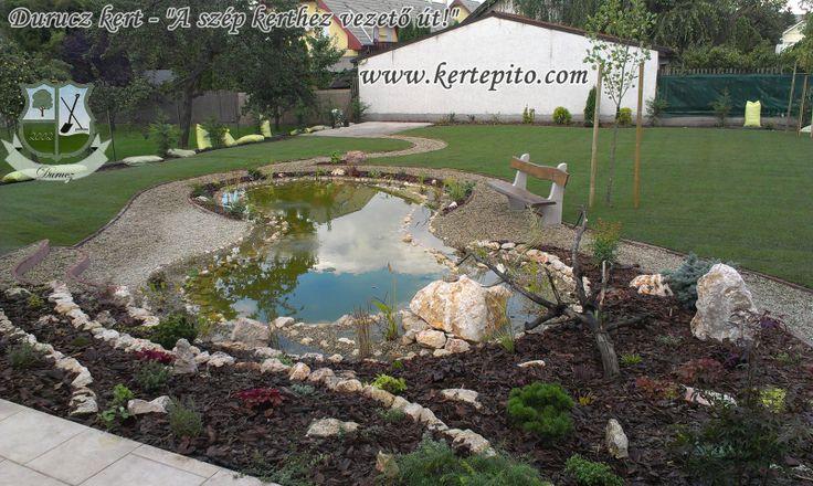 Ha szeretnél valami szépet kertedbe. Kerti tó