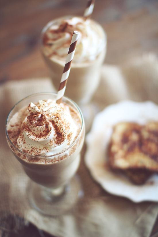 French Toast Protein Shake -     *1/2 cup cottage cheese  *1 Scoop vanilla protein powder *1 tsp Maple extract (or 2 tbs sugar free maple syrup) *1/2 tsp Cinnamon * Dash Nutmeg or pumpkin pie spice *3-5  Stevia packets *1/2 to 1 cups water * 5-10 Ice Cubes   Optional: 1/2 tsp xanthan gum 3, 1/2 tsp butter extract