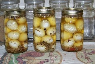 canning Pickled eggs