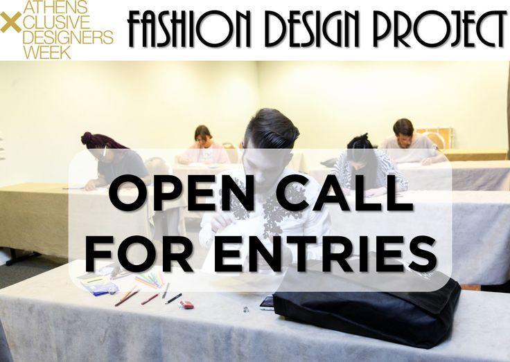 Fashion Design Project  Οι αιτήσεις για το Fashion Design Project της επετειακής 20ης AXDW μόλις άνοιξαν!!! :)  Εάν έχεις ταλέντο στο σχέδιο μόδας, δήλωσε τη συμμετοχή σου για τον ανοικτό διαγωνισμό σχεδίου Fashion Design Project και διεκδίκησε μια θέση στα New Designers Awards της επόμενης σεζόν! #axdw #fdp #celebrating10yearsoffashion #20thAXDW