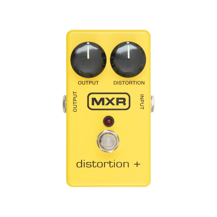 Dunlop Mxr Distortion+, Yellow