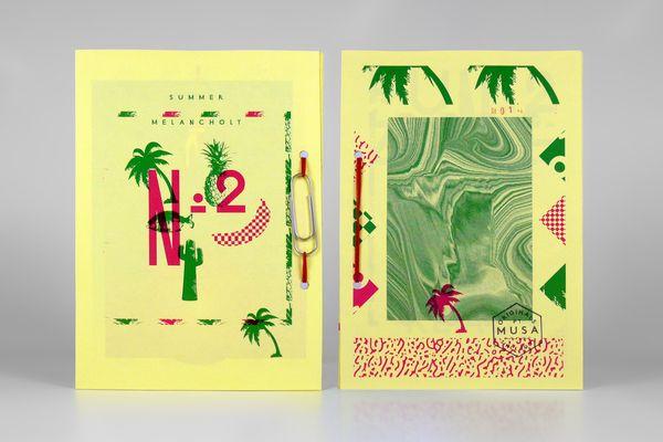 F U N Z I N E - Nº. 2 Summer Melancholy by MusaWorkLab , via BehanceBehance, Design Graphics, Posters Editorial, Graphics Design, Fanzine, Editorial Design, Design Editorial, Daily Design, Summer Melancholy