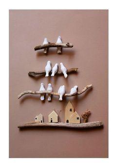 Şanslı kuşlar duvar süsü – #Duvar #kuşlar #Şanslı #Süsü