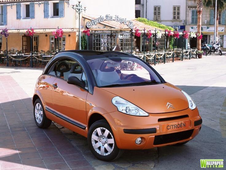 Citroen Pluriel - the multi-purpose convertible compact car.