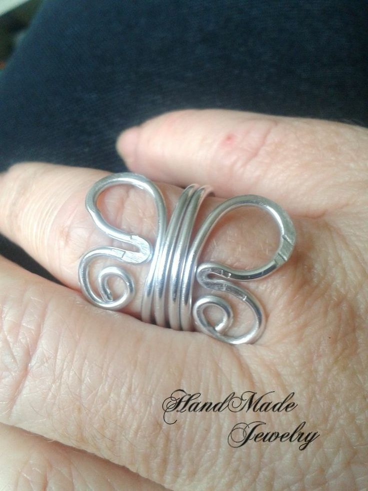 76 besten Aluminum Wire Ring Bilder auf Pinterest ...