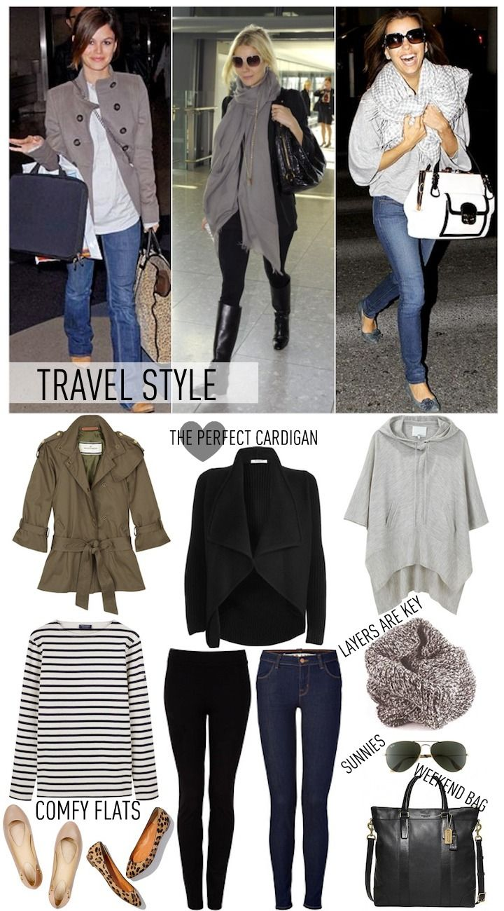 comfy travel style