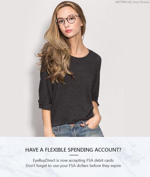 EyeBuyDirect now accepting Flexible Spending Account (FSA ...