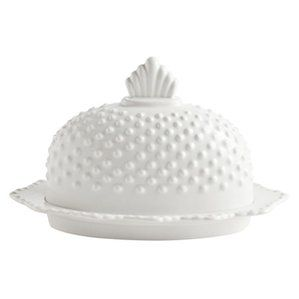 Farmhouse Pantry Hobnail Butter Dishes
