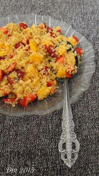 Meyveli Bulgur Salatası