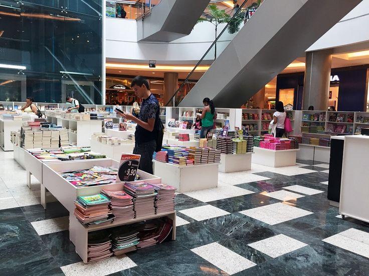 Com a missão de incentivar a prática da leitura, a Feira de Livros da Editora Bom Senso ocupa a praça de eventos do Shopping Estação BH até o dia 1º de maio. O espaço funciona de segunda a sábado, das 10h às 22h, e aos domingos, das 14h às 20h. A entrada é Catraca Livre.
