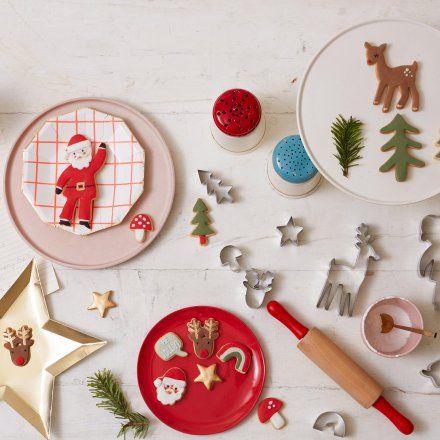 Meri Meri Ausstechform-Set 'Weihnachten' online kaufen und verschenken ➜ Bestelle Ausstechform-Set 'Weihnachten' für nur 11,95€ im Geschenke.de Online Shop - ab € inkl. Versand!