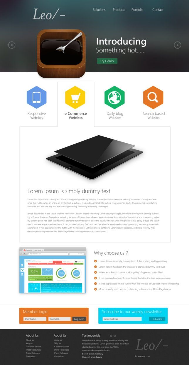 professional website templates free