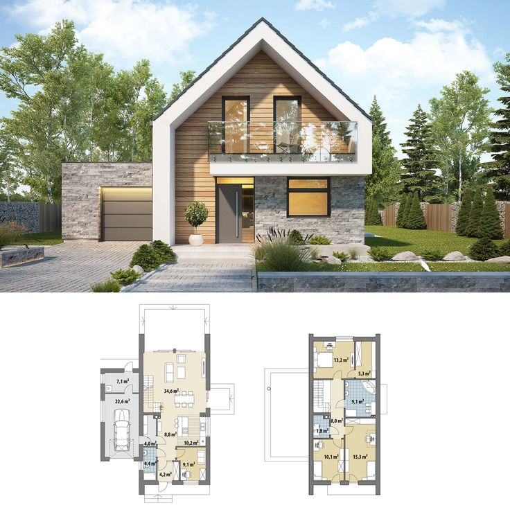 Modern small house design ideas   2 story - 3 bedroom ...