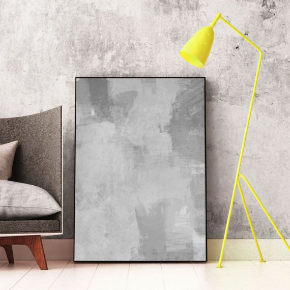 #Grey #Abstract #Art #Printable #Modern by InspirationAbstracts on Etsy