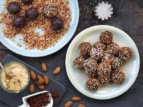 Dadelbollar med jordnötssmör | Recept från Köket.se