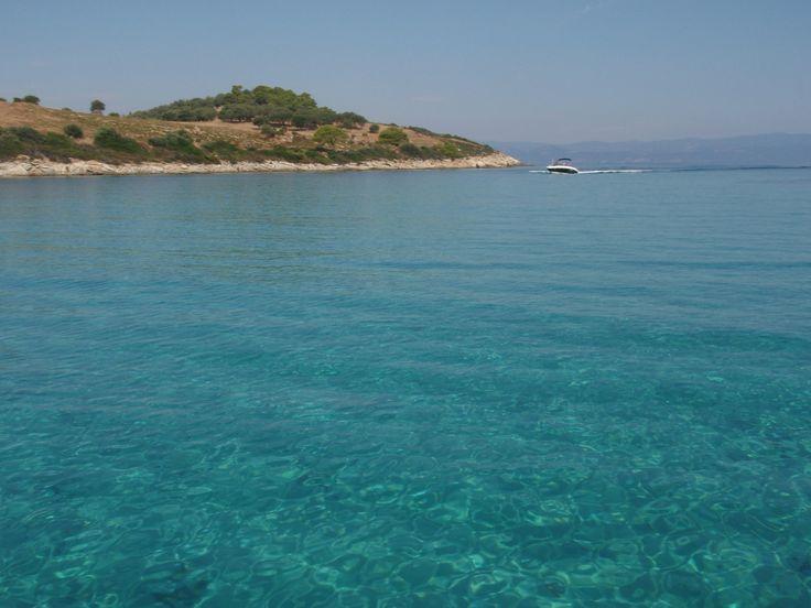 Diaporos Island , Halkidiki , Greece