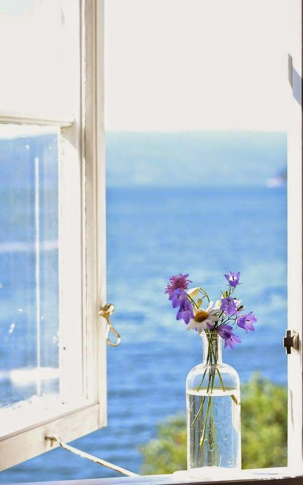 Vicky's Home: Tonos de azul, color en calma / Shades of blue, calm color