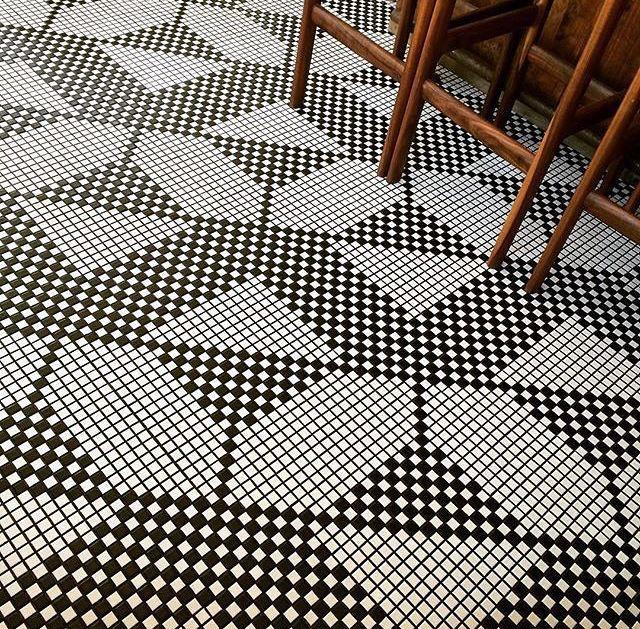 No Words Genius Installation Whytile Colorful Tile Floor