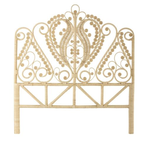 1000 ideas about rattan headboard on pinterest rattan - Jete de lit maison du monde ...