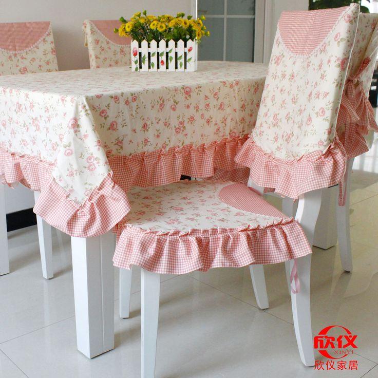 yemek masa örtüsü sandalye örtüsü yastık masa örtüsü keten masa masa ve sandalyeler set rustik bezi seti taze toz prenses(China (Mainland))