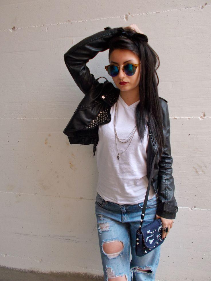Mini-bag punk 1. www.vanessavanhandmade.etsy.com