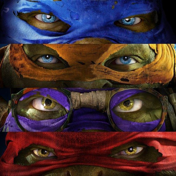 Tartarugas Ninja - Teenage Mutant Ninja Turtles