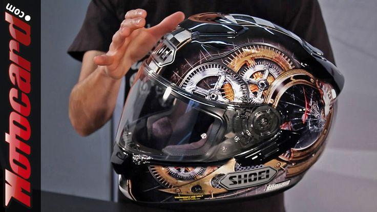 Análisis del casco Shoei GT-Air en Motocard.com