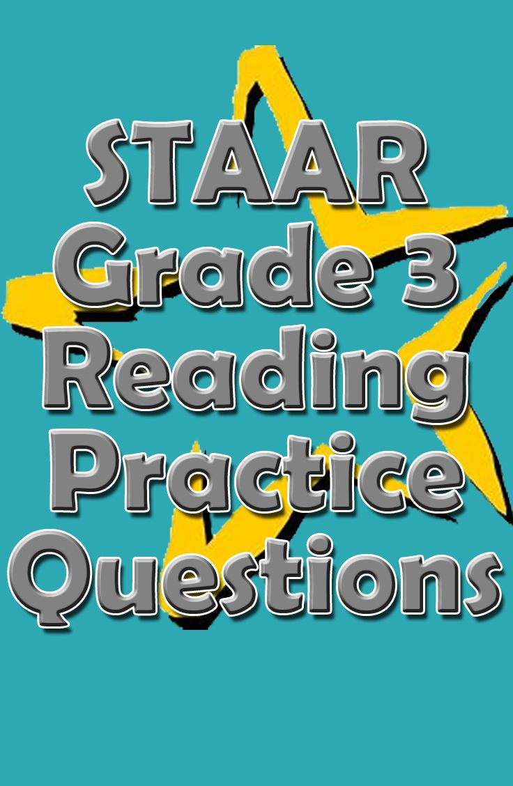 If you child or student is having difficulties with the STAAR reading section, check on this pin! These STAAR Grade 3 Reading practice questions will help your child or student prepare for the STAAR reading exam.  #staar #staarreading